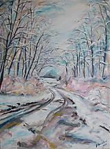 Obrazy - Dotyk zimy - 9028433_