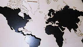 Hračky - Mapa sveta (svetadiely, kontinenty) - 9027783_