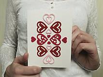 Papiernictvo - pohľadnica Be my Valentine I. - 9029967_