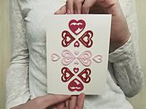 Papiernictvo - pohľadnica Be my Valentine II. - 9029968_