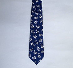 "Doplnky - kravata folk ""modrotlač"" rôzne varianty (V.) - 9027764_"