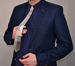 Doplnky - Nerezová kravata - 9029020_