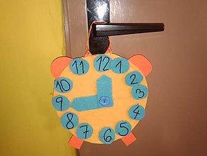 Hračky - Detské  hodiny- učíme sa hodiny - 9030617_