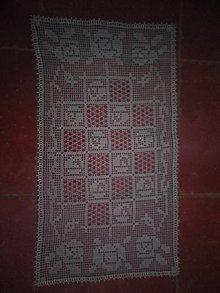 Úžitkový textil - Háčkovany obrus - 9027704_