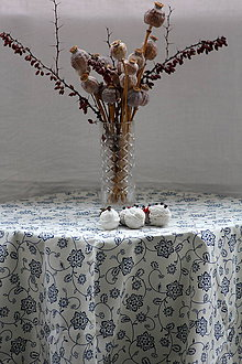 Úžitkový textil - Obrus. Krásny folklórny motív II - 9028652_