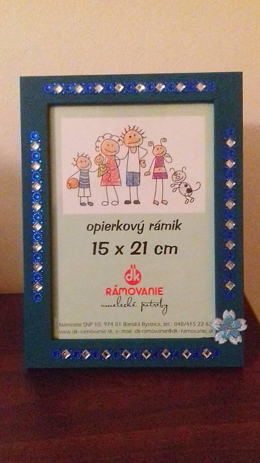 Zelený rámik na fotku   Cilekova - SAShE.sk - Handmade Zrkadlá 8dbced1702