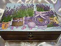 Krabičky - Levandulová na caj - 9030782_