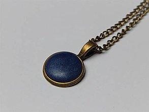 Náhrdelníky - náhrdelník minimal jeseň/zima (strieborná) - 9029957_