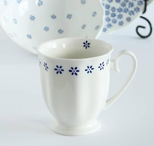 Nádoby - Biela porcelánová šálka DOROTKA - 9030236_