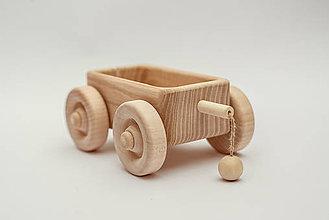 Hračky - Pišlický prípojný vozík - 9027653_