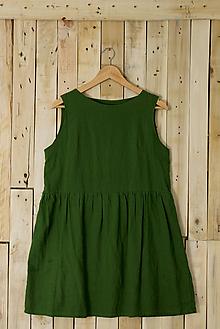 Šaty - miljö ľanové šaty - sommarmorgon - 9031131_