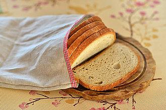 Úžitkový textil - Ľanové plátienko na chlebík - 9029203_