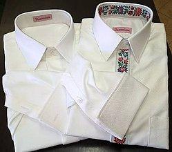 Oblečenie - ICE - svadobná košeľa - 9030031_
