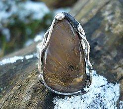 Prstene - Dendritický achát - prsteň - 9028926_