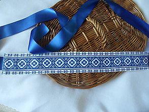 Opasky - Modrá je dobrá..., opasok - 9030419_