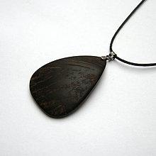 Náhrdelníky - Kokosová slza - 9031369_