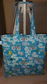 Nákupné tašky - Bicykel v meste - 9032042_