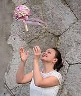 Svadobná kytica saténová