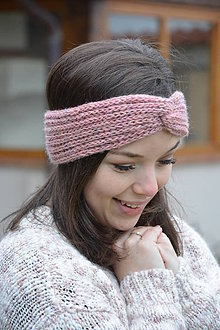 Ozdoby do vlasov - růžový melír - 9035993_