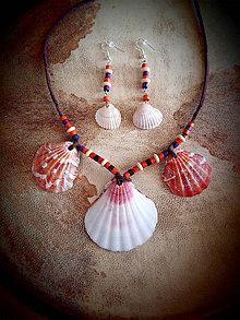 Sady šperkov - Mušľový set - 9034439_