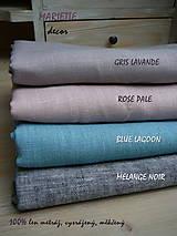 Úžitkový textil - NOVÉ ...lněné povlečení MELANGE NOIR - 9035022_