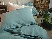 Úžitkový textil - NOVÉ ...lněné povlečení BLUE LAGOON - 9035037_