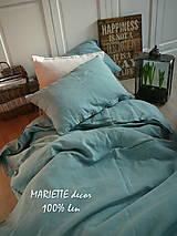 Úžitkový textil - NOVÉ ...lněné povlečení BLUE LAGOON - 9035041_
