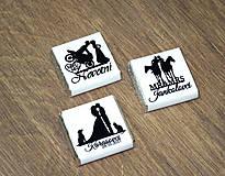 - Svadobné čokoládky Silueta hobby - 9036535_
