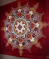 Obrazy - Mandala/ Tanec lásky - 9033200_