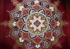 Obrazy - Mandala/ Tanec lásky - 9033201_