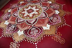 Obrazy - Mandala/ Tanec lásky - 9033207_