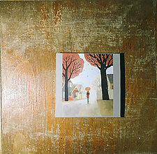 Papiernictvo - Leporelo 13x13 ,,Po jesennom chodníčku,, - 9035326_
