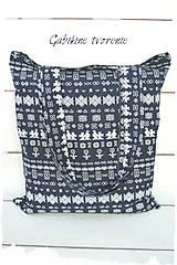 Nákupné tašky - Nákupná taška FOLK - 9035714_