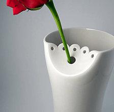 Dekorácie - Váza krajka - 9034884_