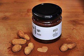 Potraviny - Med s kakaom a doma praženými arašidmi - 9032713_