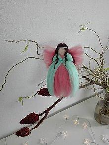 Dekorácie - Anjel kvetov - 9033992_
