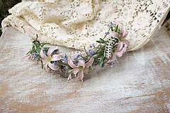 Ozdoby do vlasov - kvetinový polvenček ,,lúčny,, - 9036196_