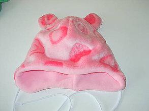 Detské čiapky - čiapočka s uškami - 9032565_