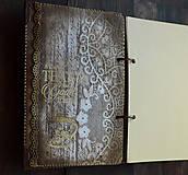 Papiernictvo - Čipka,čipčička/ Diár 2021/diár,denník,zápisník,kniha hostí - 9032056_