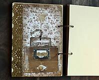 Papiernictvo - Čipka,čipčička/ Diár 2021/diár,denník,zápisník,kniha hostí - 9032059_