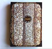 Papiernictvo - Čipka,čipčička/ Diár 2021/diár,denník,zápisník,kniha hostí - 9032069_