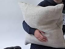 - Meditačný vankúš z ručne tkaného plátna - 9034314_