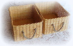 Košík - originál  (23 x 28 výška 15)