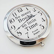 Zrkadielka - zrkadielko So many books, so little time - 9035349_