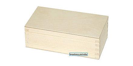 Polotovary - Krabička z masívu 17x9 cm - 9035125_