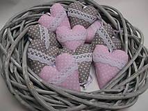 Darčeky pre svadobčanov - Svadobné srdiečká - 9032535_