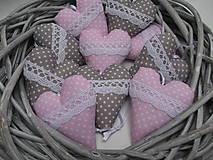 Darčeky pre svadobčanov - Svadobné srdiečká - 9032537_