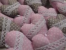 Darčeky pre svadobčanov - Svadobné srdiečká - 9034861_