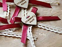 - Svadobné pierka pre rodičov a svedkov - 9041235_