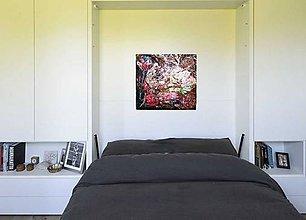 Obrazy - flowers- kvetinový abstrakt 3D - 9037554_